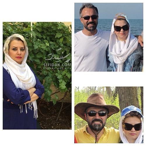 بازیگران و همسرانشان