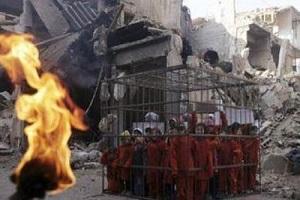 داعش 19 دختر ایزدی را زنده زنده سوزاند