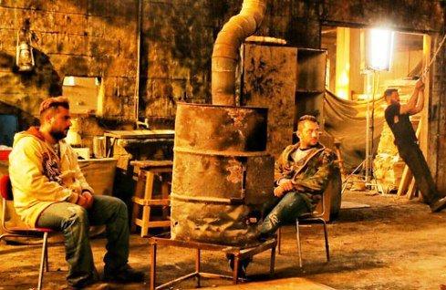 بهرام رادان در فیلم بارکد