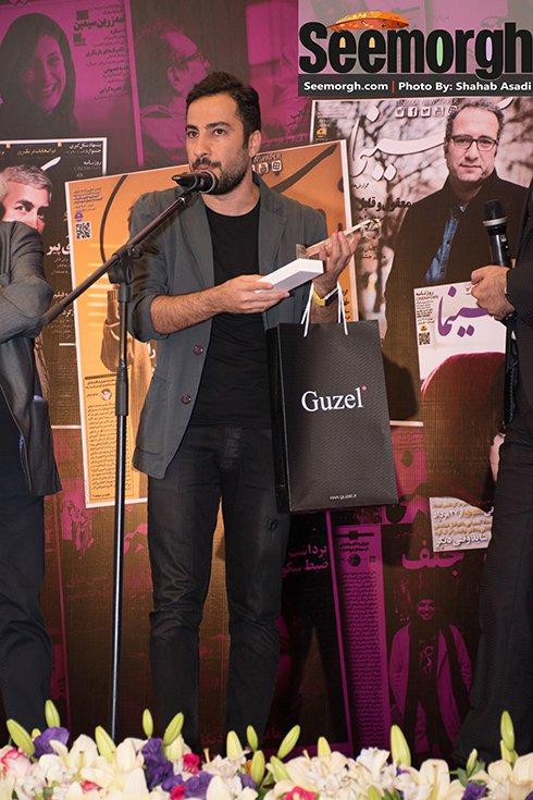نوید محمدزاده برنده جایزه بهترین بازیگر مرد