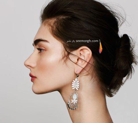 مدل گوشواره به پیشنهاد مجله ال Elle برای تابستان 2016 - مدل شماره 2
