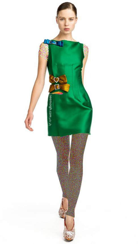 پیراهن های زنانه لانوین Lanvin برای تابستان 2016 - مدل شماره 6