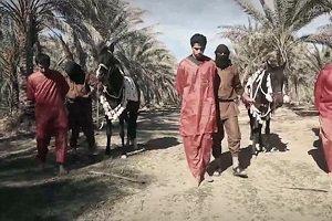 داعش 4 فوتبالیست را سر برید + عکس