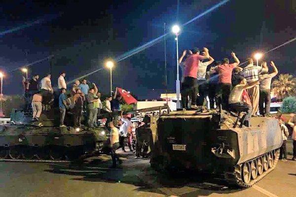ناتوانی دستگاه اطلاعاتی ترکیه در کشف کودتا