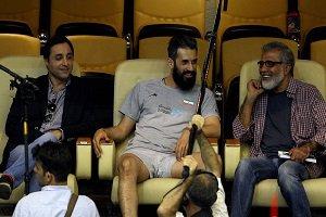 سعید معروف در قاب عکس سلفی امیرحسین رستمی در اردو