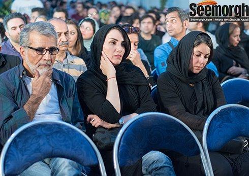 ستاره اسکندری در کنار مرجان شیرمحمدی و بهروز افخمی