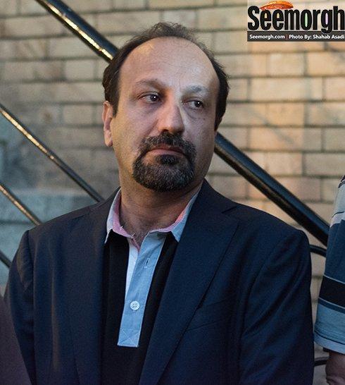 اصغر فرهادی در مراسم عباس کیارستمی