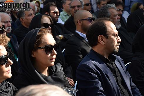 نیکی کریمی در کنار اصغر فرهادی