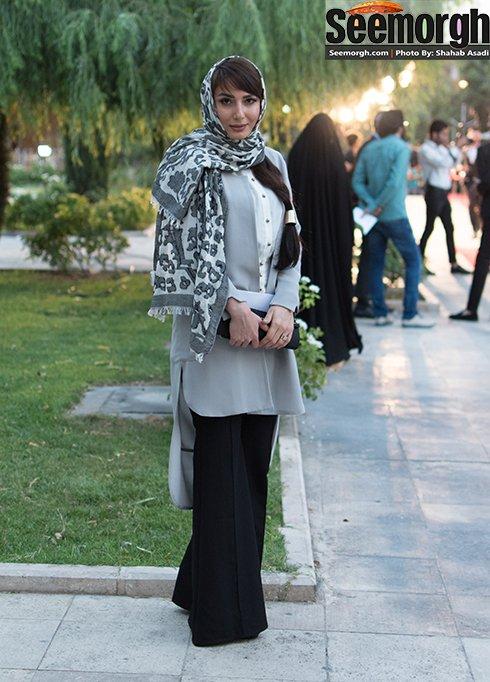 مدل لباس سمیرا حسن پور در جشن حافظ