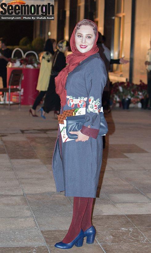 عکس آرام جعفری در جشن حافظ