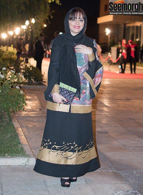 لیلا برخورداری در جشن حافظ 95