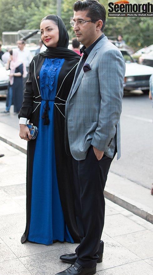 مدل لباس شیلا خداداد در جشن حافظ