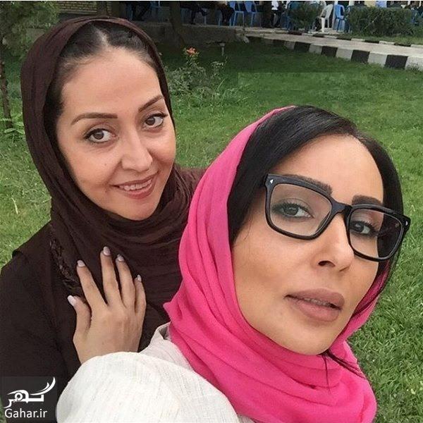 عکس های پرستو صالحی در پشت صحنه ماه عسل عید فطر