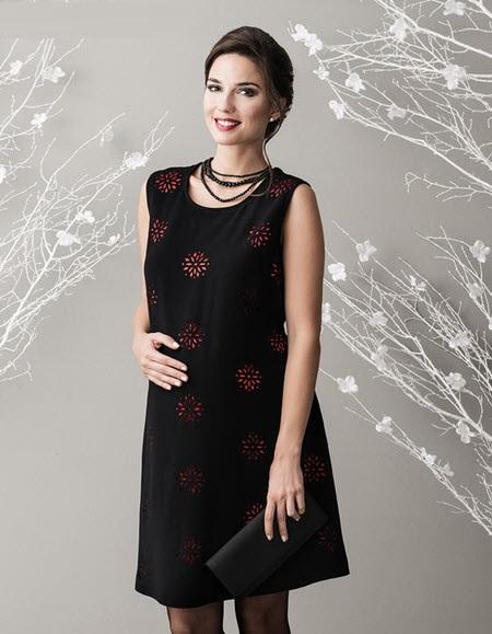 زیباترین مدلهای لباس بارداری مجلسی 99