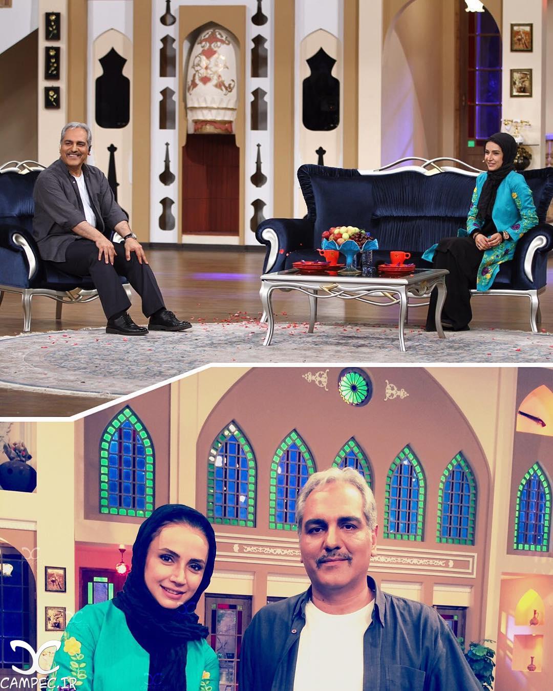 حضور شبنم قلی خانی در برنامه دورهمی /تصاویر