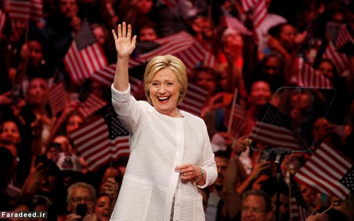 هیلاری کلینتون کاندیدای دموکراتها شد