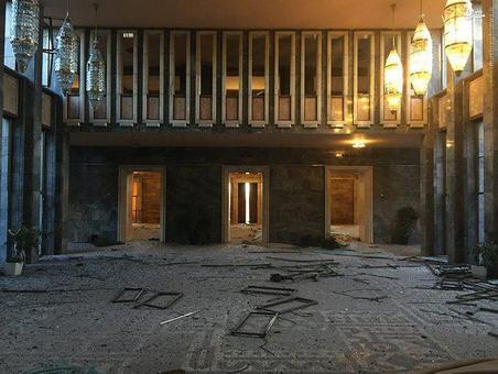 پارلمان ترکیه پس از کودتا /تصاویر