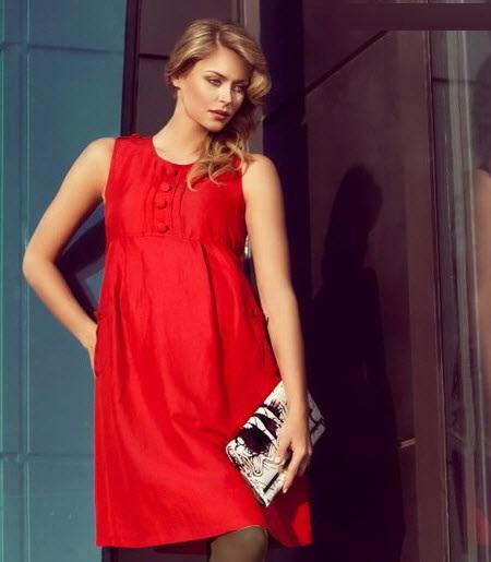 زیباترین مدلهای لباس بارداری مجلسی 95