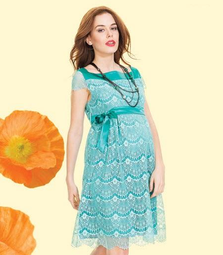 زیباترین مدلهای لباس بارداری مجلسی ۹۵