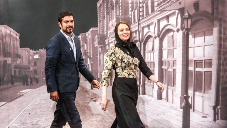 خودروی لوکس زوج مشهور سینمای ایران