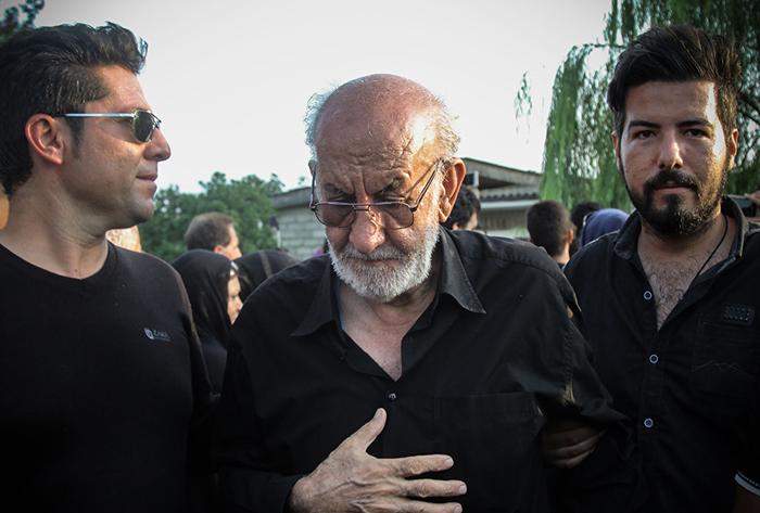 مراسم چهلمین روز درگذشت حبیب /تصاویر