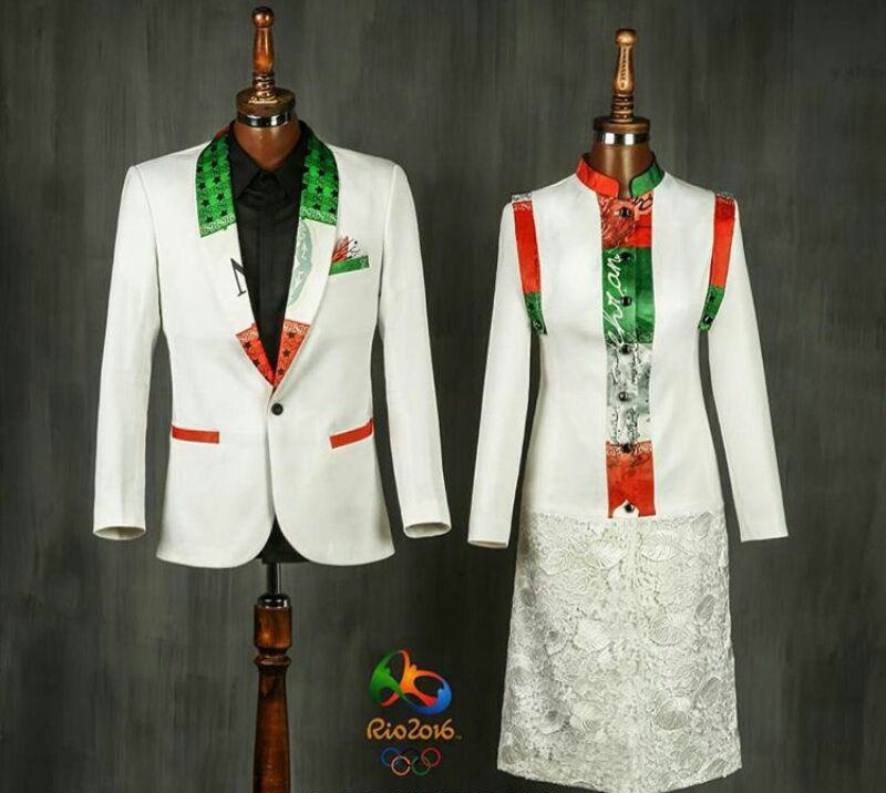 لباس طراحی شده المپیک
