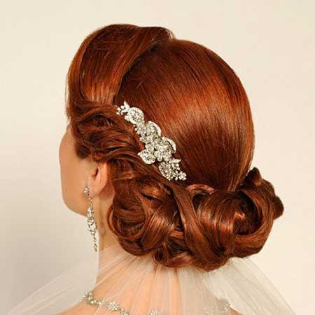مدلهای جدید موی عروس به سبک اروپایی
