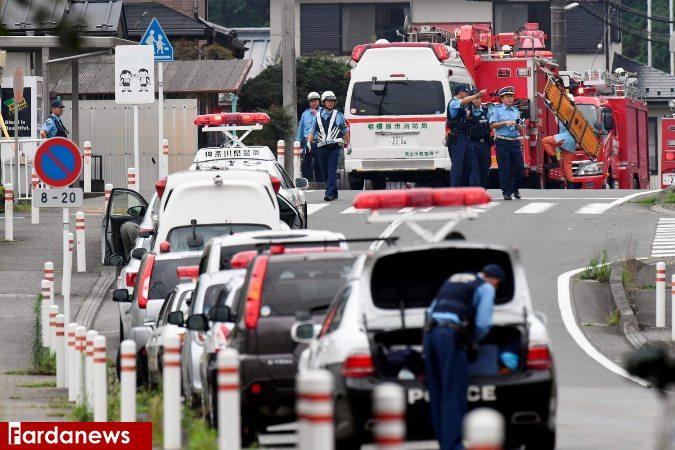 ۱۹کشته در حمله به یک مرکز توانبخشی در ژاپن /تصاویر