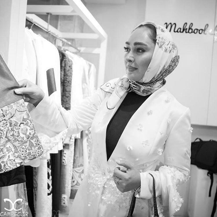 الهام حمیدی و شیلا خداداد در افتتاحیه آتلیه طراحی مد /تصاویر