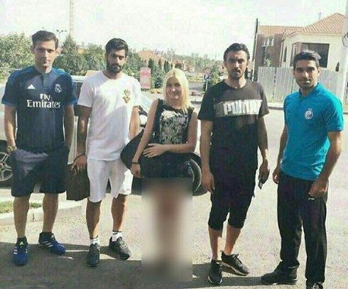 عکس منشوری بازیکنان استقلال