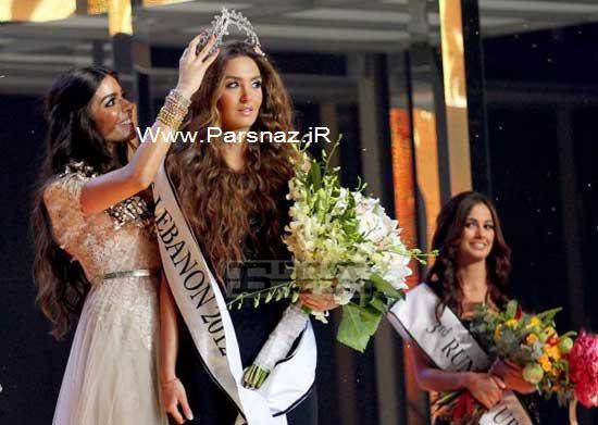 www.parsnaz.ir - زیباترین دختر شایسته لبنان در سال 2016 + تصاویر