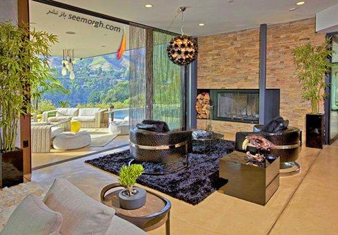 دکوراسیون داخلی قصر رویایی جاستین بیبر Justin Bieber - عکس شماره 8