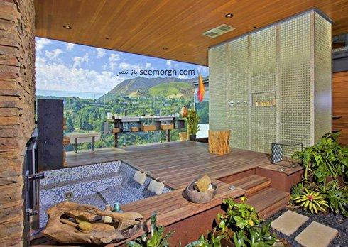 دکوراسیون داخلی قصر رویایی جاستین بیبر Justin Bieber - عکس شماره 9