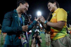 انحراف اخلاقی بازیکن تیم ملی زنان برزیل در مسابقات المپیک ۲۰۱۶
