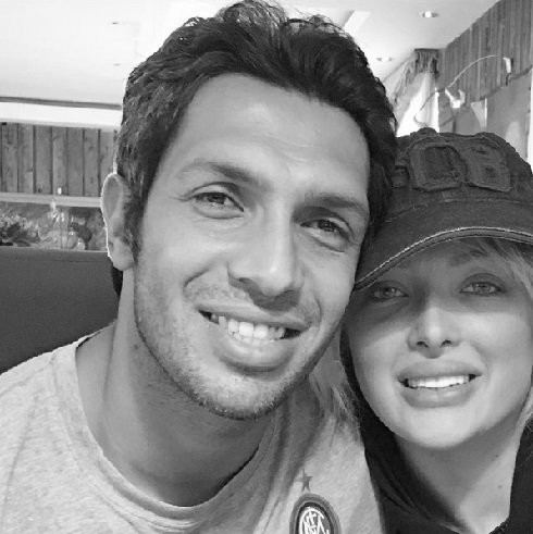 تصاویر جدید از سپهر حیدری و همسرش