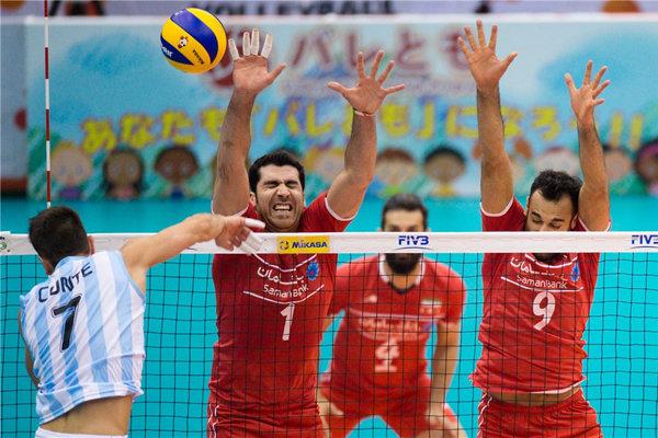 والیبال ایران در نخستین دیدار خود مقابل آرژانتین شکست خورد
