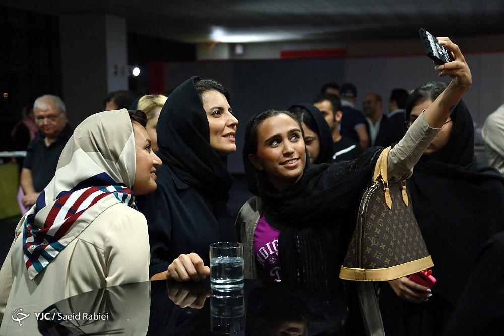 لیلا حاتمی در کنار مادرش /تصاویر
