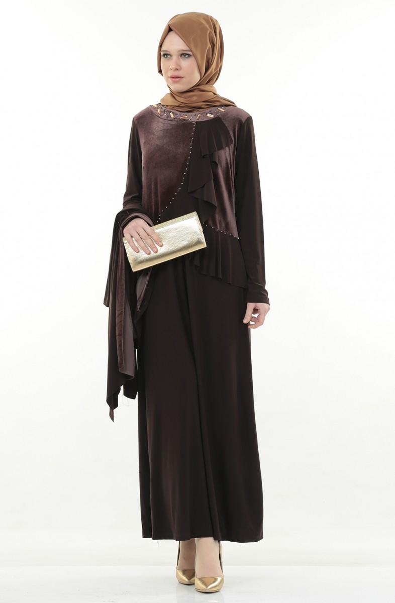 زیباترین مدلهای لباس مجلسی با حجاب