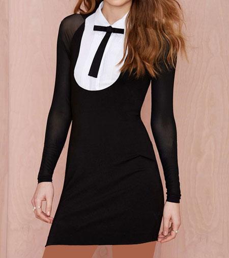 زیباترین مدلهای لباس مجلسی کوتاه برند Nasty Gal