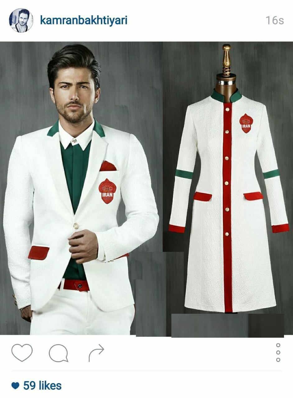 طرح نهایی لباس کاروان ایران در المپیک /عکس