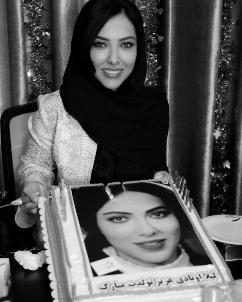 جشن تولد 33 سالگی لیلا اوتادی /تصاویر