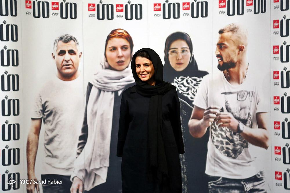 """لیلا حاتمی و مادرش در مراسم اکران فیلم""""من"""""""