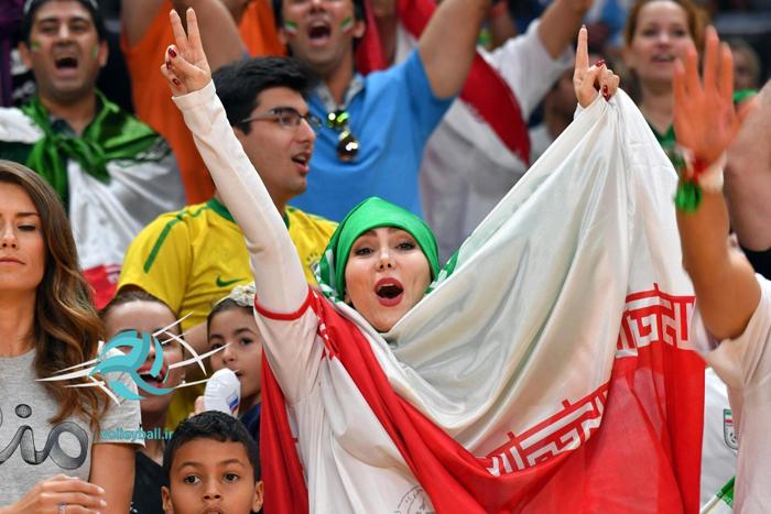 حاشیههای دیدار تیم والیبال ایران و کوبا /تصاویر