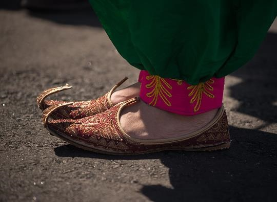 پوشش خاص دختران افغان سوژۀ عکاسان المپیک /تصاویر