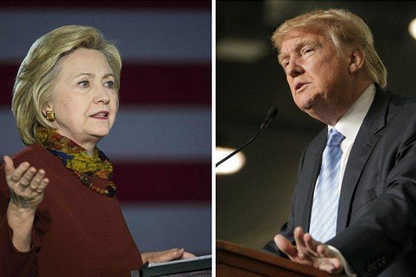پیشی گرفتن مجدد هیلاری کلینتون بر دونالد ترامپ
