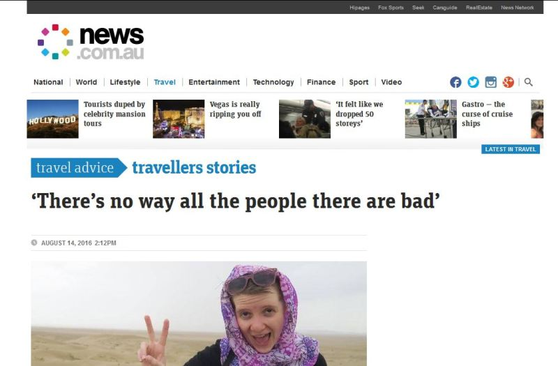 جنجال توهین این زن به مردان ایرانی +(عکس)