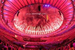تصاویری زیبا از مراسم اختتامیه پارالمپیک 2016