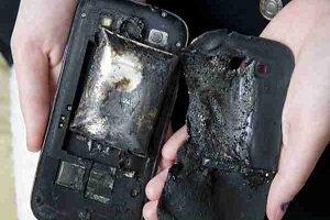 آیا انفجار گوشی های موبایل حقیقت دارد؟ + علت انفجار چیست