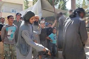 مجازات سیگاری های به دست داعش