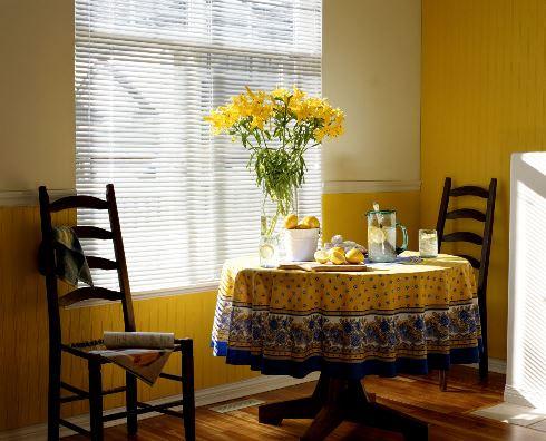دکوراسیون داخلی دلگرم کننده : زرد آفتابی